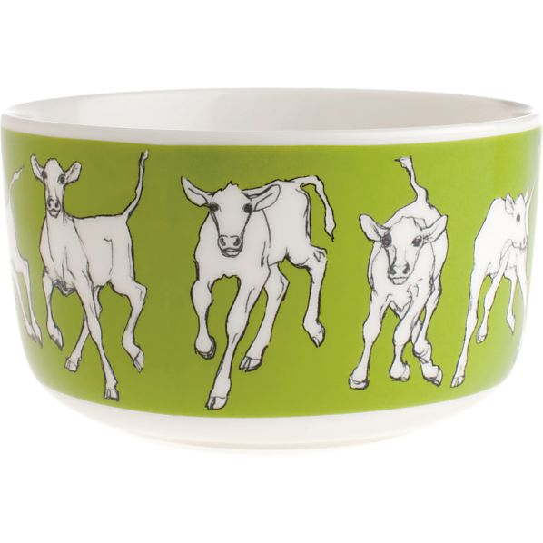 Marimekko Iltavilli Green Bowl