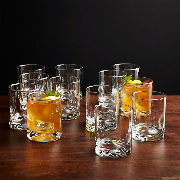 Set of 12 Impressions Double Old-Fashioned Glasses