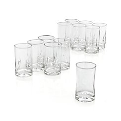 Set of 12 Impressions Juice Glasses