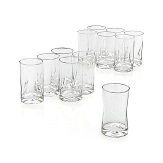 Set of 12 Impressions Juice Glasses