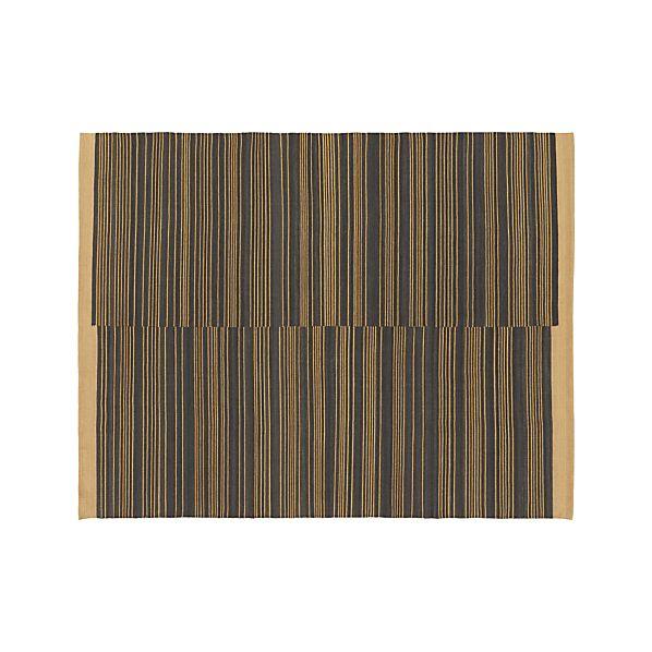 Indigo Stripe 8'x10' Rug