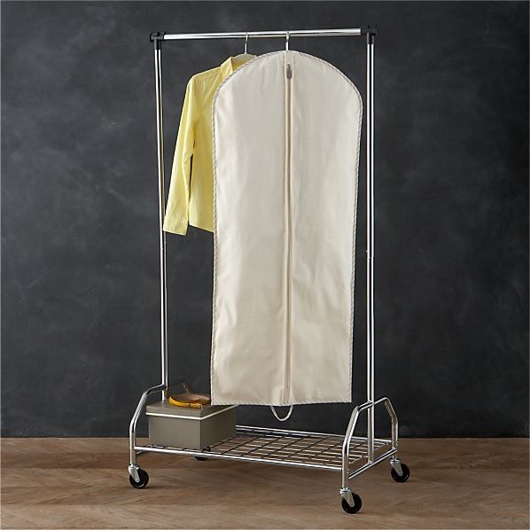 Twill Individual Hanging Garment Bag with Ticking