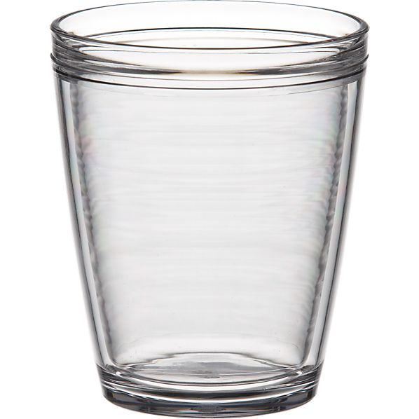 Insulated Plastic Double Old-Fashioned