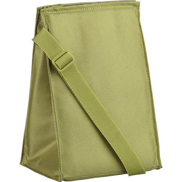 Insulated Green Lunch Bag
