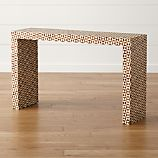 Intarsia Console Table