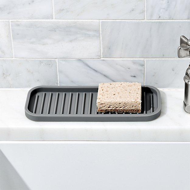 Interdesign Silicone Sink Tray