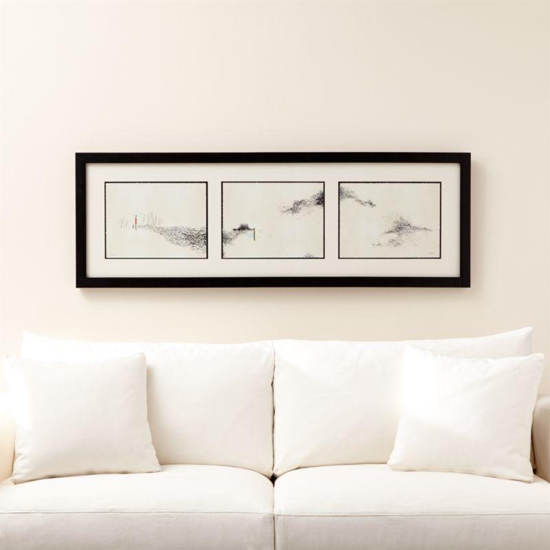 Intervals Triptych Print