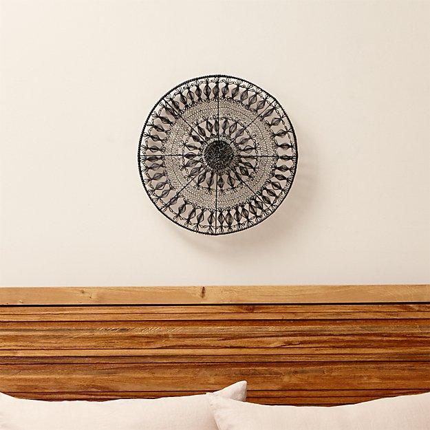 Intricate Circle Medium Metal Wall Art
