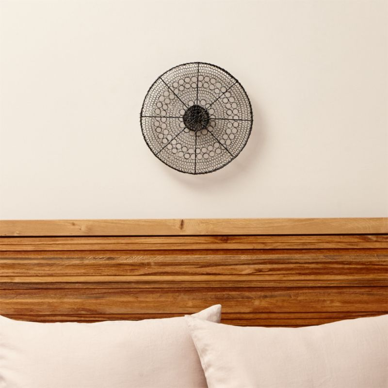 Intricate Circle Small Metal Wall Art Crate And Barrel