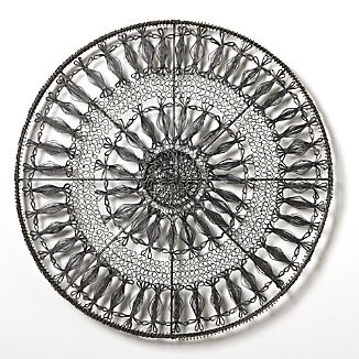 Intricate Circle Medium Metal Wall Art