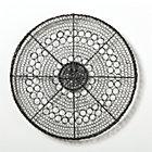 Intricate Circle Small Metal Wall Art.