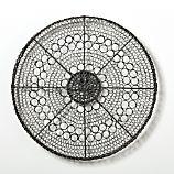 Intricate Circle Small Metal Wall Art