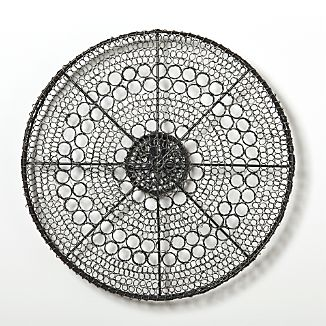 Intricate Circle Small Metal Wall Art