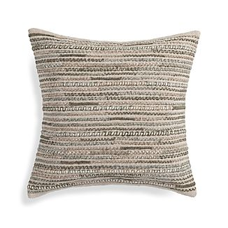 "Isaac Neutral 20"" Pillow"
