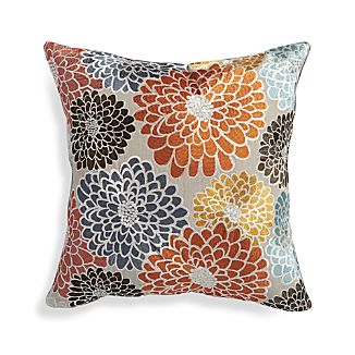 "Isabell Orange 18"" Pillow"