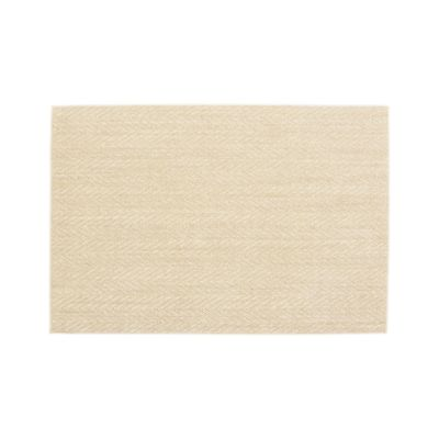 Island Chevron Cream 4'x6' Rug