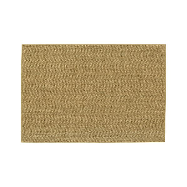Island Chevron Honey 4'x6' Rug