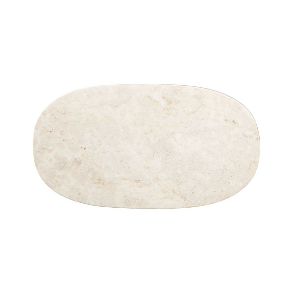 Ivory Marble Cheese Board