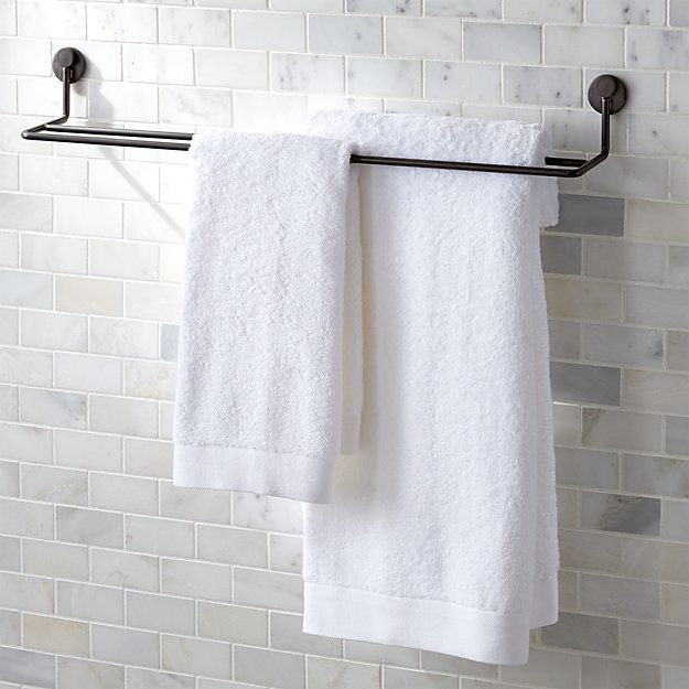 Jackson Double Bar Towel Rack