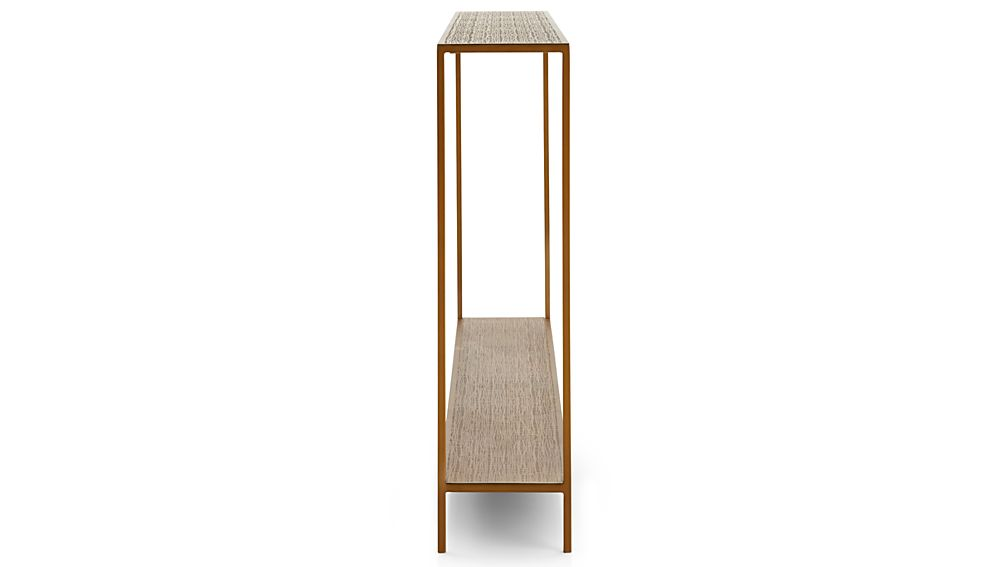Jacque console table crate and barrel