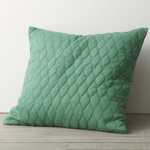Jade Euro Pillow Sham