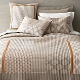 Jaipur Orange Full-Queen Quilt