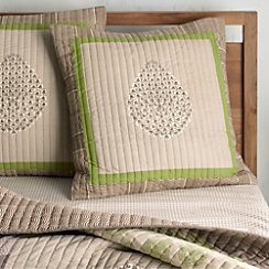 Jaipur Green Euro Pillow Sham
