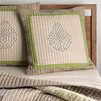 Jaipur Green Euro Pillow Sham