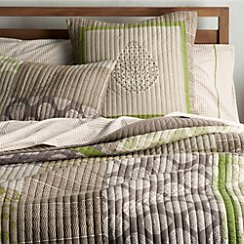 Jaipur Green King Quilt