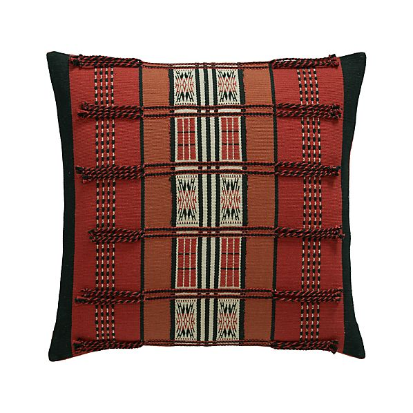 """Jalukie 18"""" Pillow with Down-Alternative Insert"""