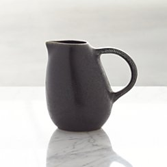 Jars Tourron Black Creamer