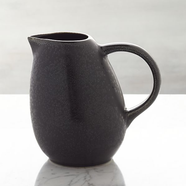 Jars Tourron Black Pitcher