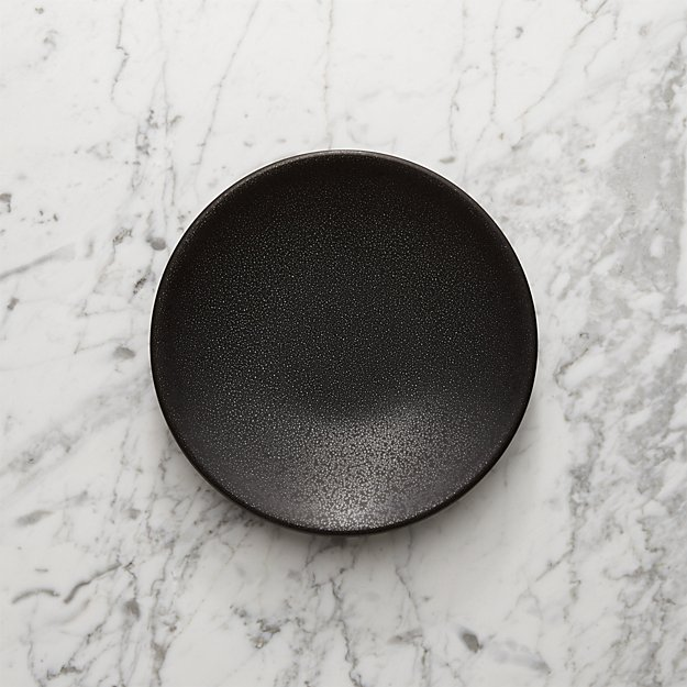 Jars Tourron Black Salad Plate