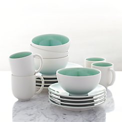 Jars Tourron Aqua 16-Piece Place Setting