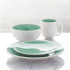 Jars Tourron Aqua 4-Piece Place Setting