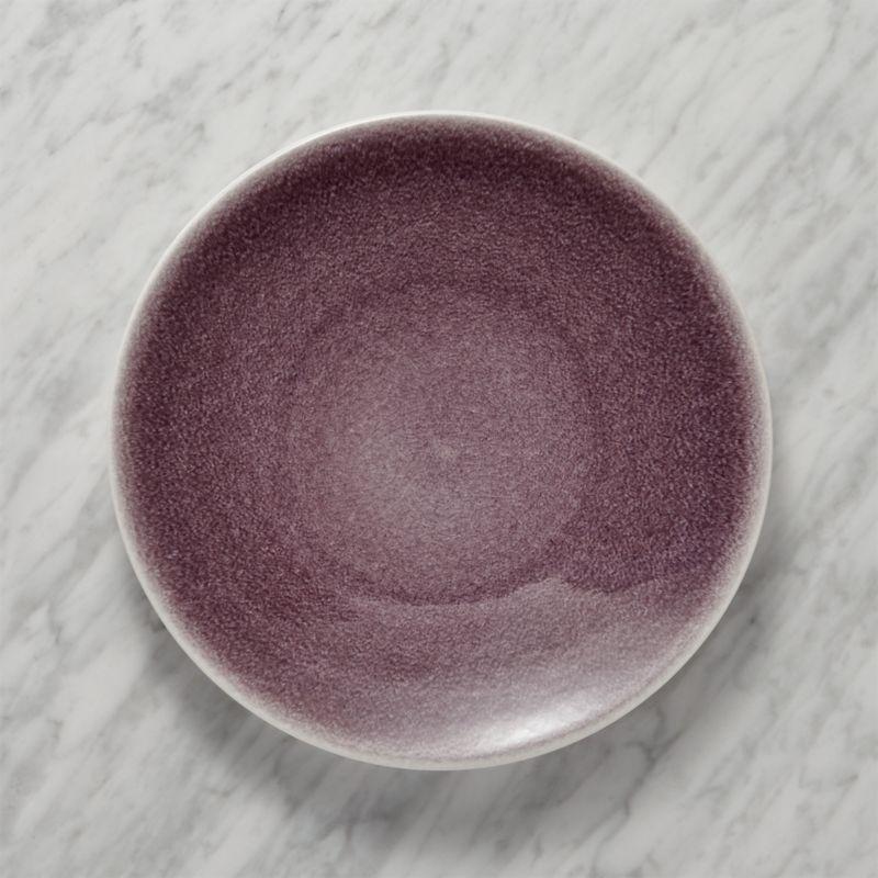 Jars Tourron Purple Dinner Plate
