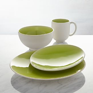 Jars Tourron Green Dinnerware