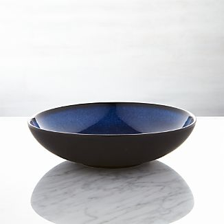 Jars Tourron Blue Low Bowl