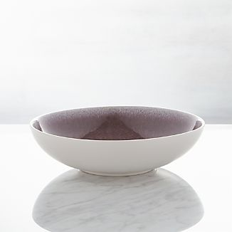 Jars Tourron Purple Low Bowl