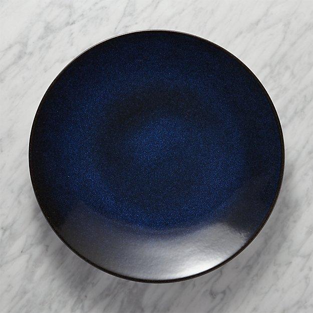 Jars Tourron Blue Platter