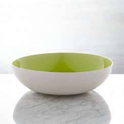 Jars Tourron Green Serving Bowl