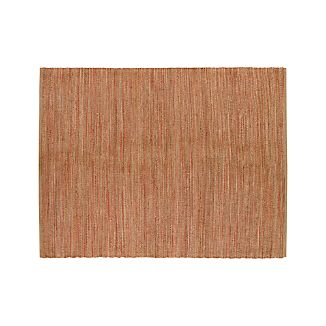 Jarvis Coral Orange Jute 8'x10' Rug