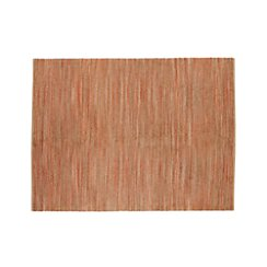 Jarvis Coral Orange Jute-Blend 9'x12' Rug
