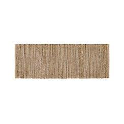 Jarvis Grey Jute-Blend 2.5'x7' Rug Runner