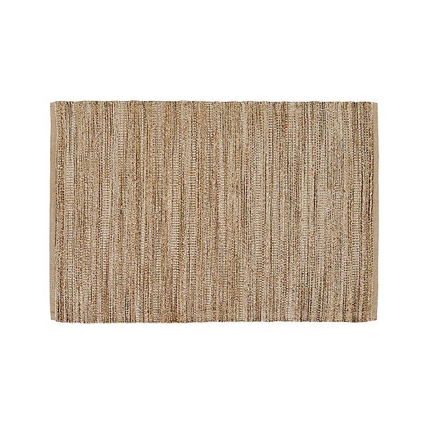 Jarvis Grey Jute-Blend 4'x6' Rug