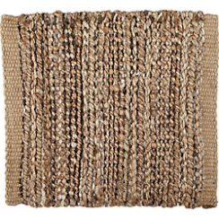 "Jarvis Grey Jute-Blend 12"" sq. Rug Swatch"