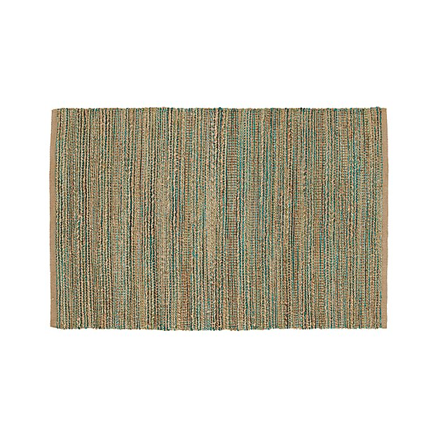 Jarvis Teal Blue Jute Blend 4x6 Rug Crate and Barrel : jarvis teal 4x6 rug from www.crateandbarrel.com size 625 x 625 jpeg 91kB