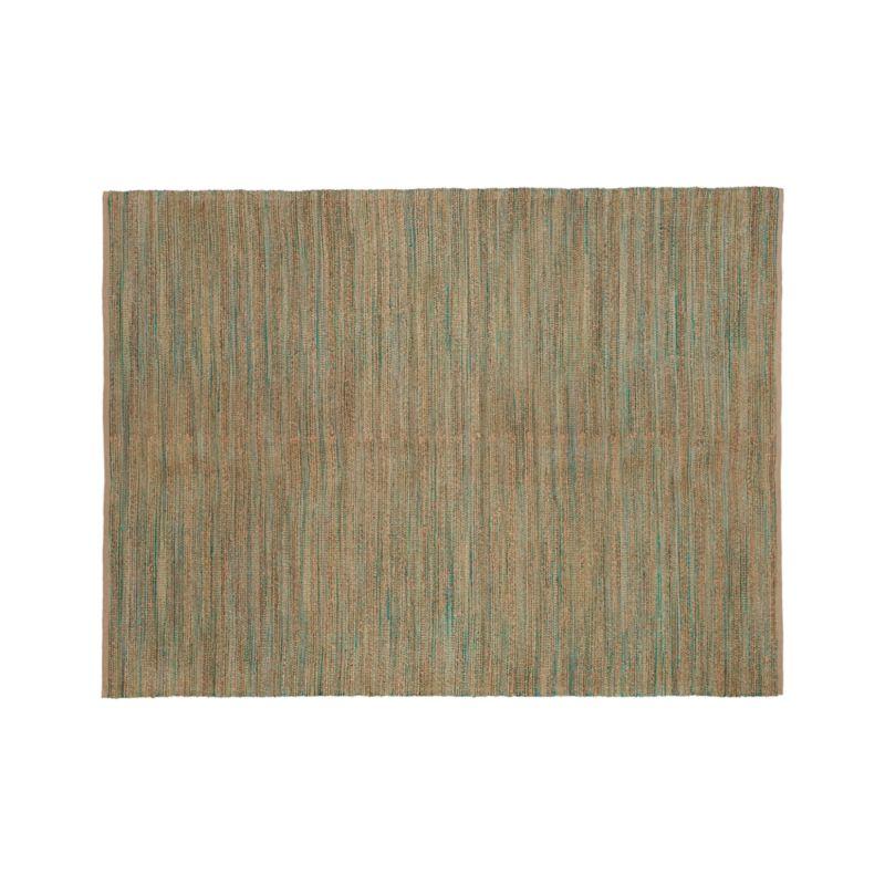 Jarvis Teal Blue Jute-Blend 9'x12' Rug