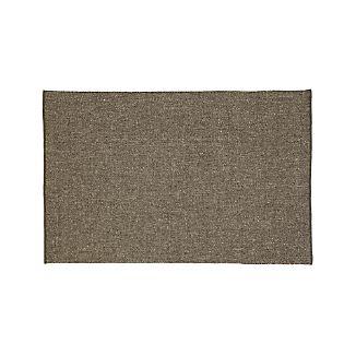 Jasper Grey Wool-Blend 6'x9' Rug