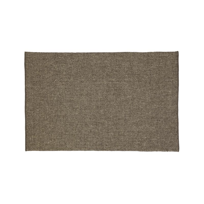 Jasper Grey Wool-Blend 5'x8' Rug
